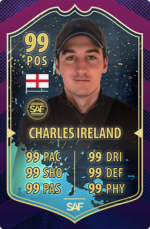 Charles Ireland SAF Global Gaming Streamer