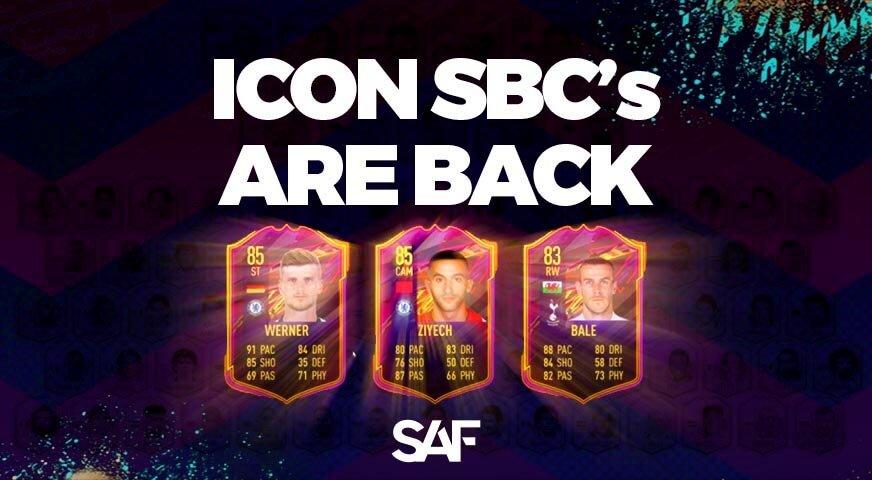 FIFA Icon SBCs are back New