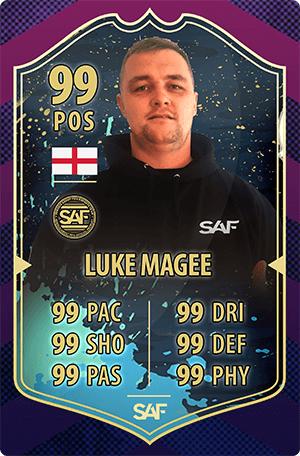 Luke Magee SAF Global Gaming Streamer