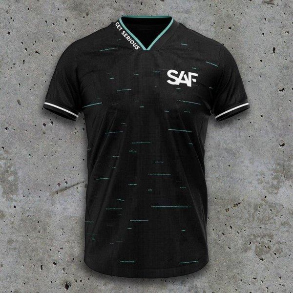 SAF 2021 sSports Team Shirt black front