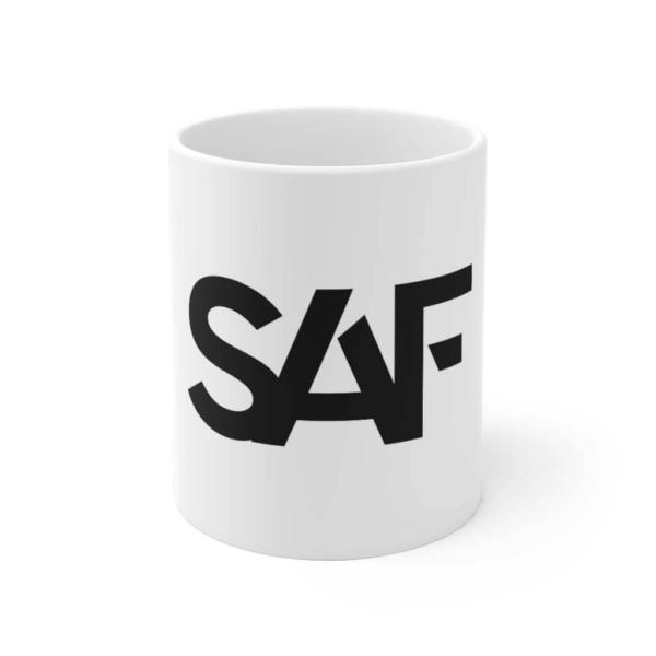 SAF Ceramic Mug Front