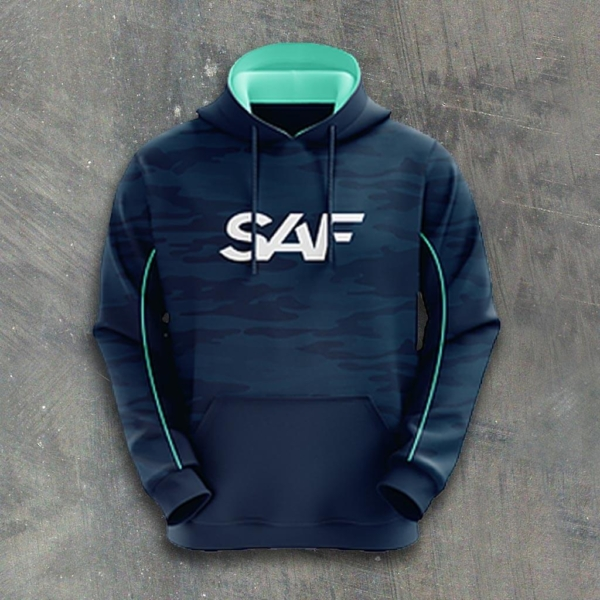 SAF Personalized eSports Hoodie FRONT