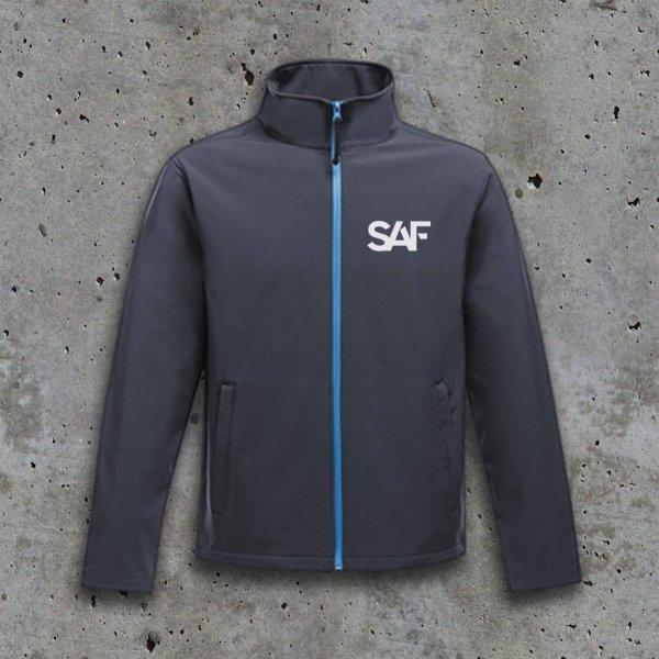 SAF Softshell Jacket NAVY FBLUE front