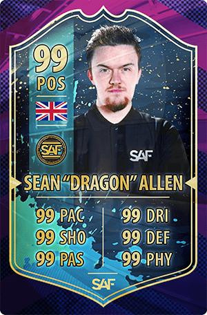 Sean Allen SAF Global Gaming Pro Team