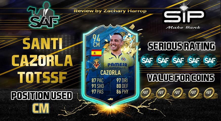 TOTS Santi Cazorla EA Sports FIFA